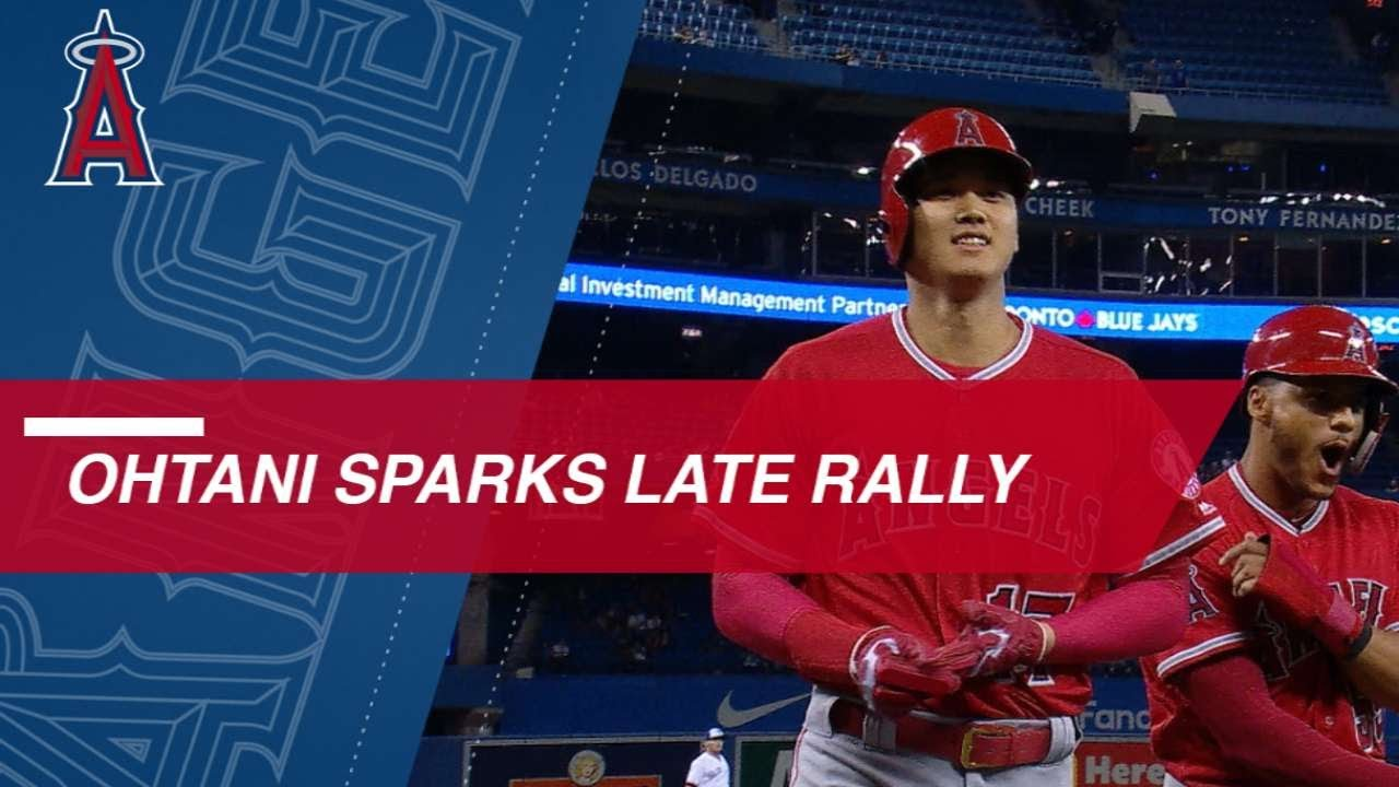 Shohei Ohtani sparks Angels 9th inning rally vs. Blue Jays - Shohei Ohtani sparks Angels' 9th-inning rally vs. Blue Jays