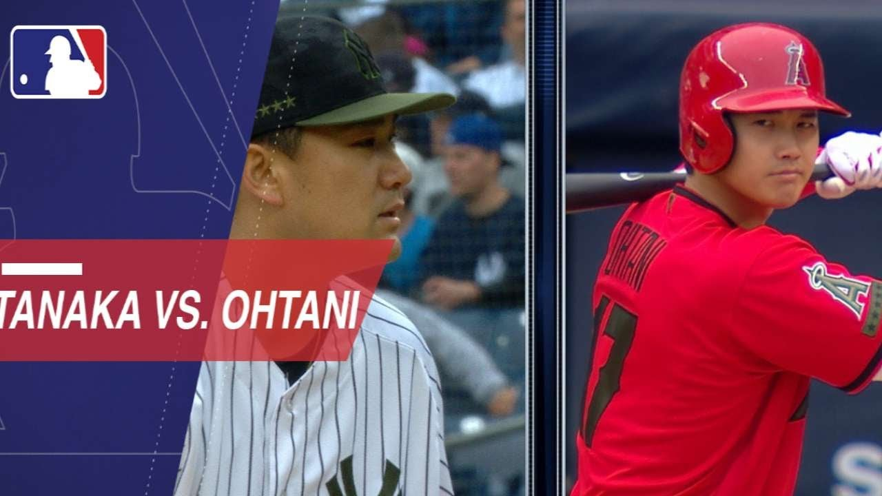 Shohei Ohtani vs. Masahiro Tanaka in the Bronx - Shohei Ohtani fans 5 in strong outing against the Tigers