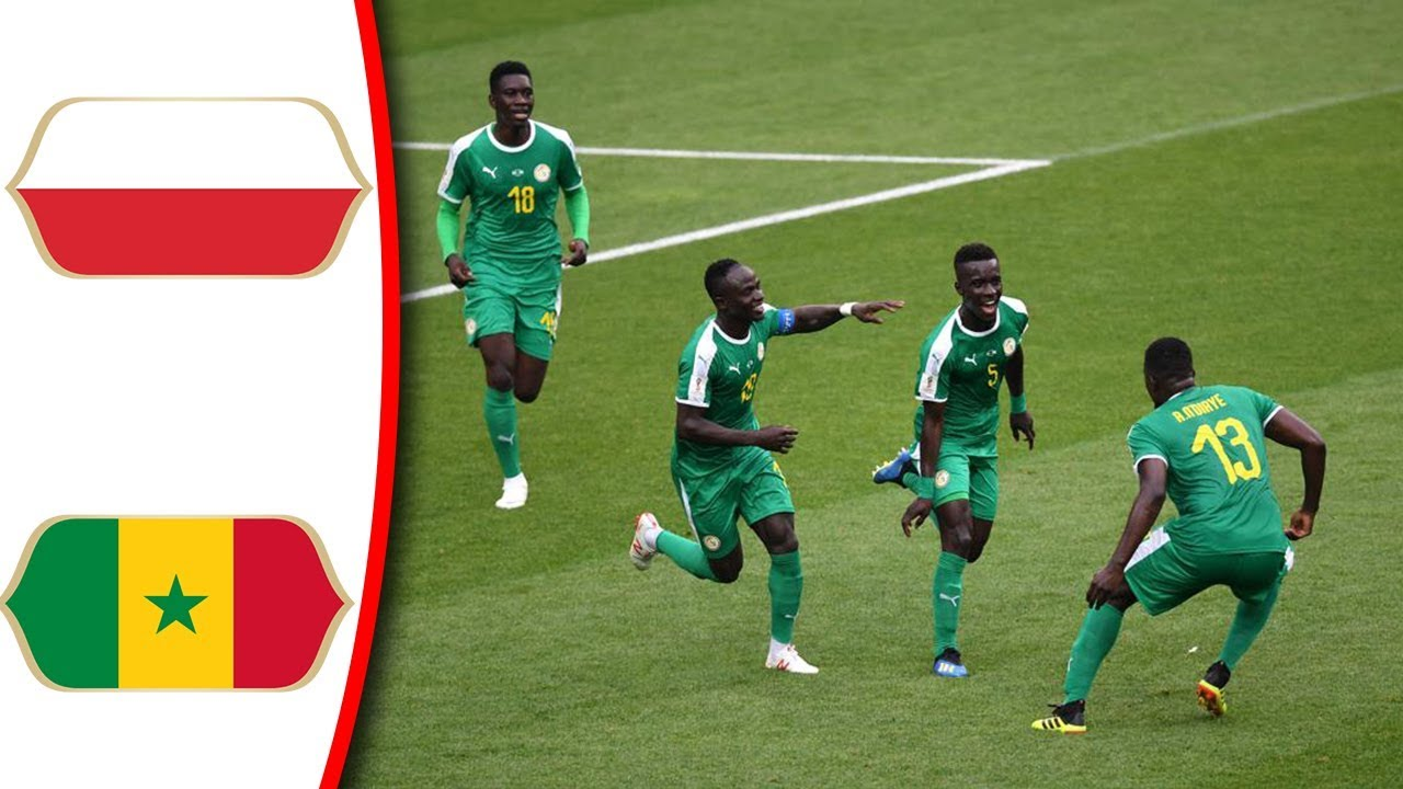 yt 2115 Poland vs Senegal 1 2 All Goals Highlights 19062018 HD World Cup From stands Only - Poland vs Senegal 1-2 - All Goals & Highlights - 19/06/2018 HD World Cup (From stands Only)