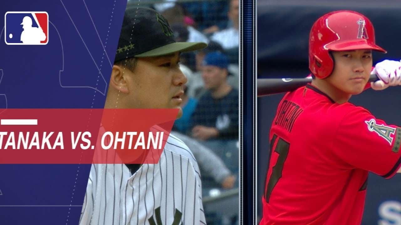 Shohei Ohtani vs. Masahiro Tanaka in the Bronx - Shohei Ohtani vs. Masahiro Tanaka in the Bronx