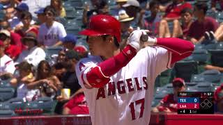 Shohei Ohtani Highlights Angels vs Rangers 6042018 - Shohei Ohtani (大谷 翔平 )Highlights | Angels vs Rangers 6/04/2018